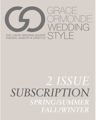 Wedding Style 2 Issue Subscription - Fall/Winter 2017 & Spring/Summer 2018